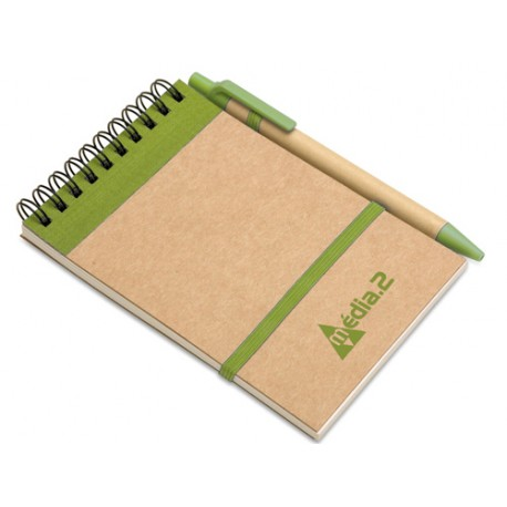 CARNET DE NOTES SPIRALE PM AVEC STYLO
