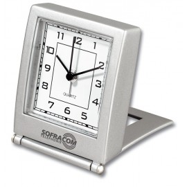 PENDULE ALARME METAL TIME  - Z64 -