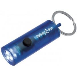 Porte-clef lampe bleu